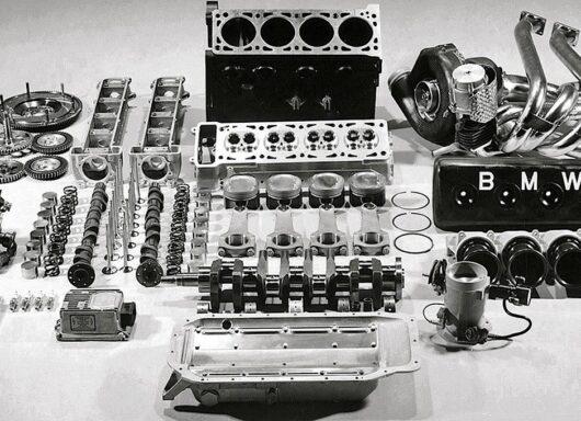 Motore BMW M12/13 il più potente del Circus mai realizzato